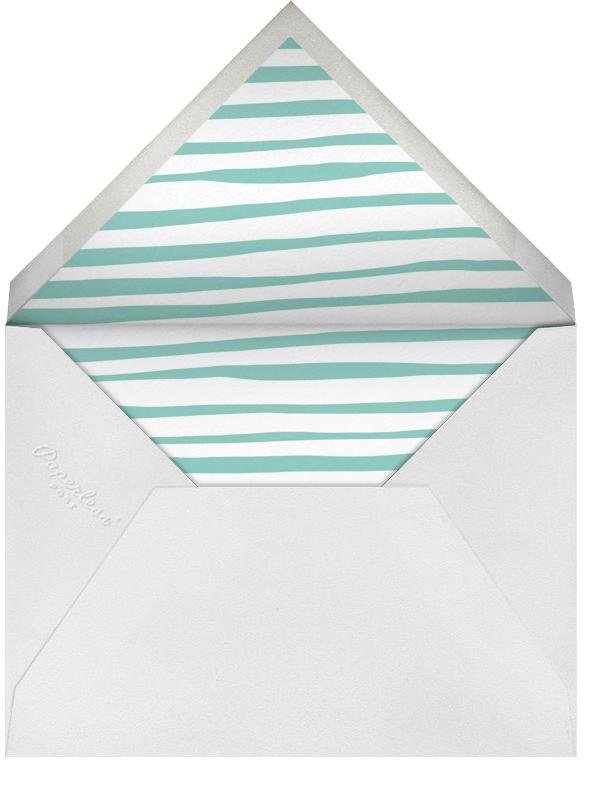 Little Big Ears - Gray - Linda and Harriett - Kids' stationery - envelope back