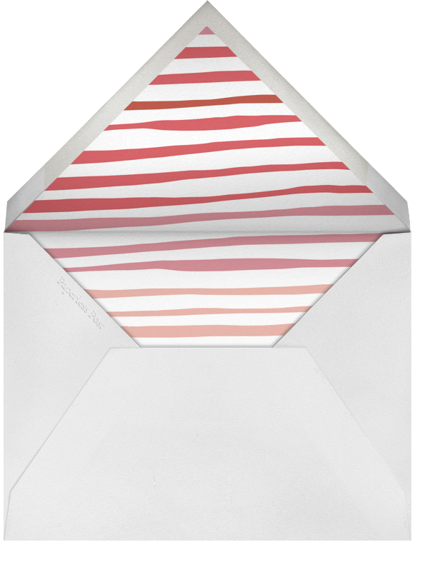 Steggie - Coral - Linda and Harriett - Kids' stationery - envelope back