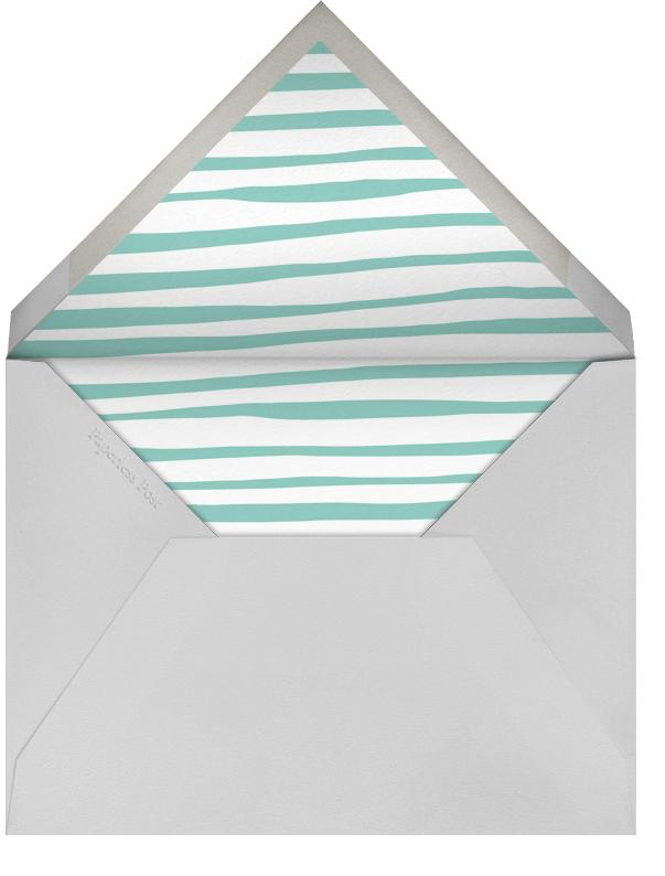 Steggie - White - Linda and Harriett - Kids' stationery - envelope back