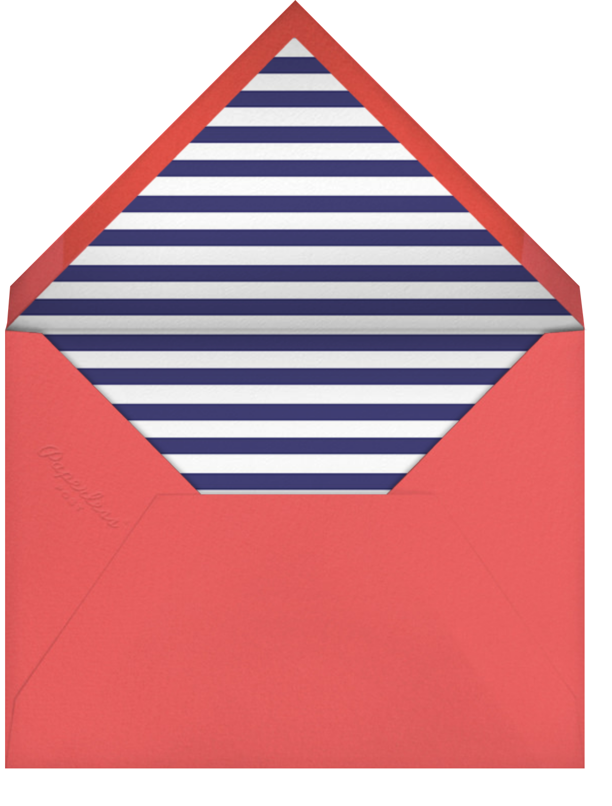 Out At Sea - Pink - Mr. Boddington's Studio - Anniversary cards - envelope back
