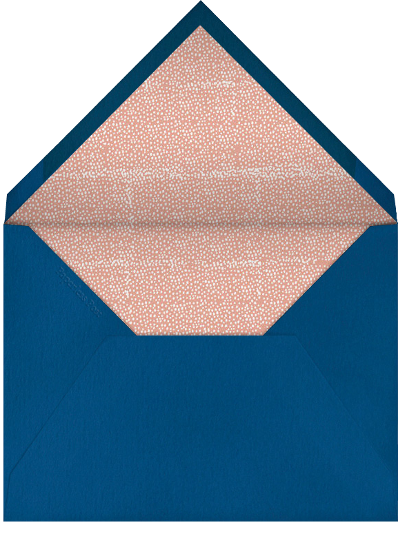 An Ostrich's Birthday - Blue - Mr. Boddington's Studio - Birthday - envelope back