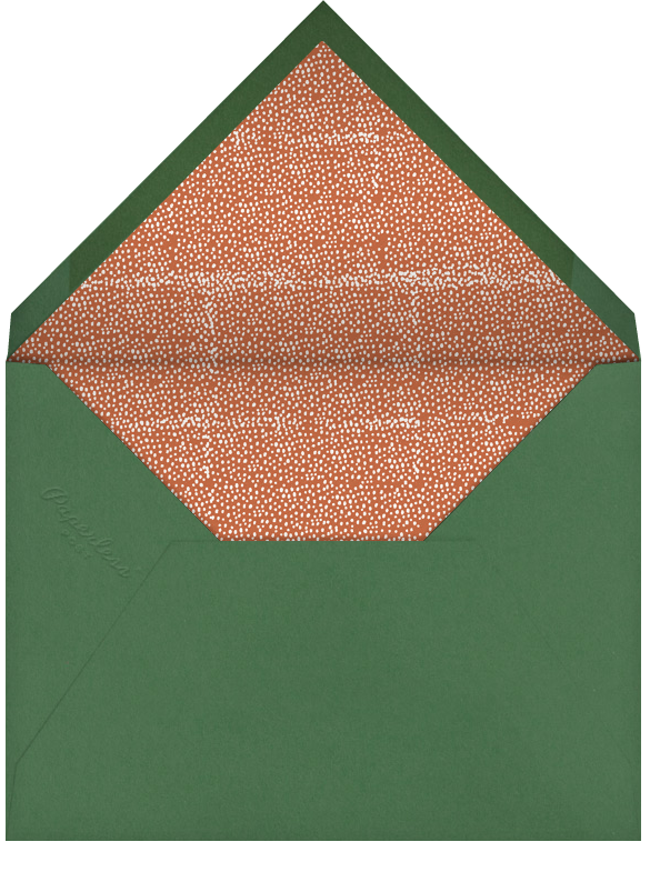 An Ostrich's Birthday - Orange - Mr. Boddington's Studio - Birthday - envelope back