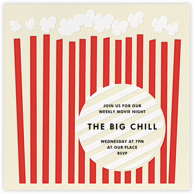 Cinema City - kate spade new york - Online Party Invitations