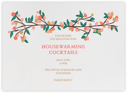 Housewarming Party Invitations  Online And Paper  Paperless Post