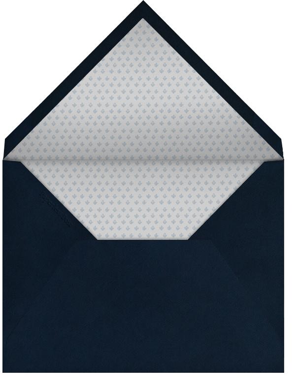 Indented Rounded Corners Horizontal - Dark Blue - Paperless Post - Sympathy - envelope back