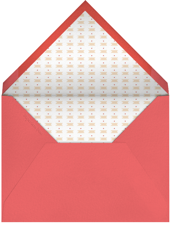 Meet Me at Midnight - Black - Mr. Boddington's Studio - Engagement party - envelope back