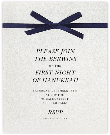 Halston - Paperless Post - Holiday invitations