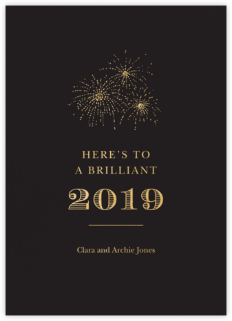 Pitch (Tall) - Paperless Post - New Year cards