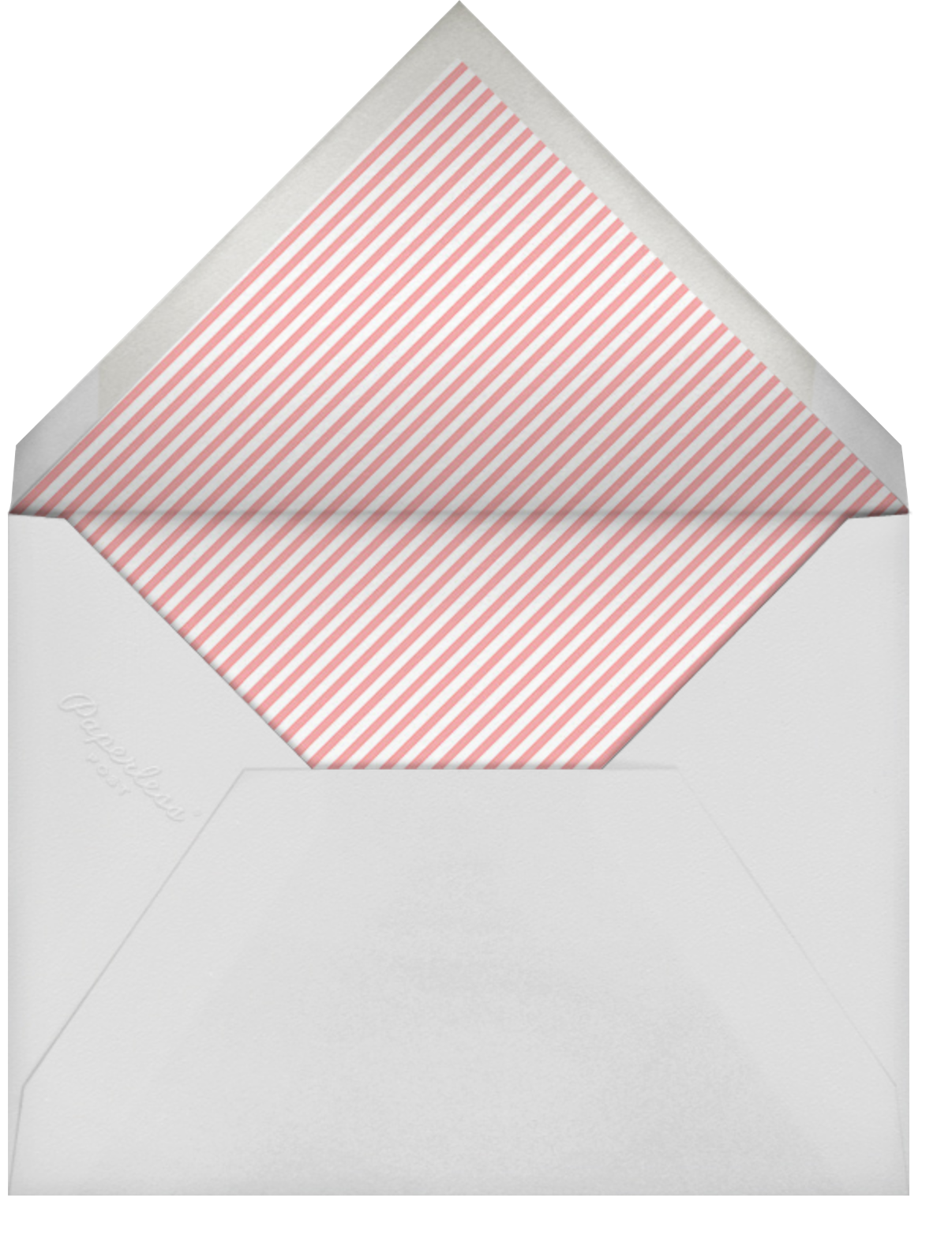 Hi Kittie - Green - Mr. Boddington's Studio - Just because - envelope back