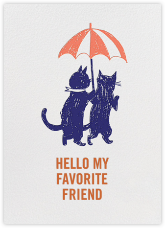 Hi Kittie - Royal Blue - Mr. Boddington's Studio - Just Because Cards
