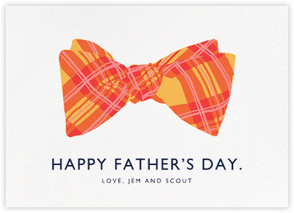 Bow Tie - Hannah Berman - Father's Day cards