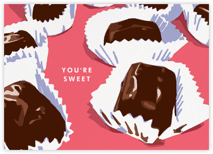 Candy Box Chocolates - Hannah Berman - Valentine's day cards