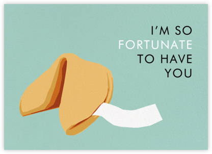 Fortune Cookie - Hannah Berman - Valentine's day cards