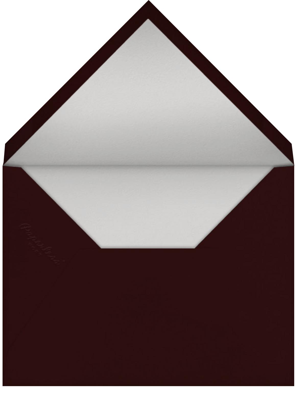Koko Odd Ball (Christian Robinson) - Red Cap Cards - Envelope