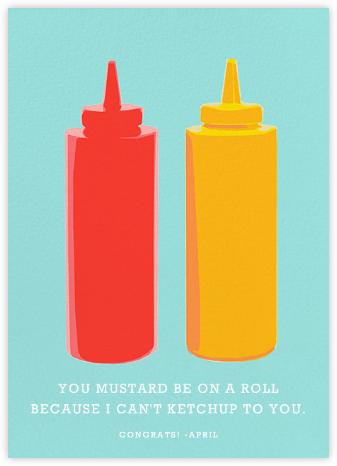 Ketchup and Mustard - Hannah Berman - Congratulations cards