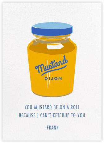 Dijon Mustard - Hannah Berman - Just Because Cards