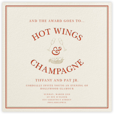 Hot Wings and Champagne - Derek Blasberg -