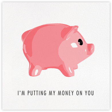 Piggy Bank - Hannah Berman - Encouragement cards
