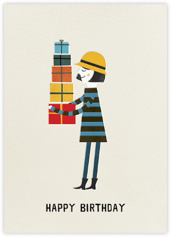 Birthday Girl (Blanca Gomez) - Red Cap Cards - Birthday cards