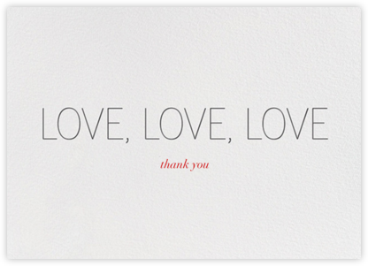 Love, Love, Love | horizontal