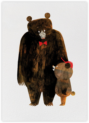 Daddy Bear (Chris Sasaki) - Red Cap Cards - Father's Day Cards
