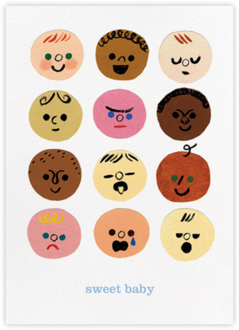 Baby Faces (Christian Robinson) - Red Cap Cards -