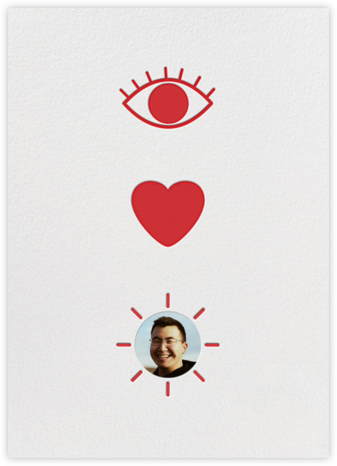 Eye Heart You - Paperless Post - Valentine's Day Cards