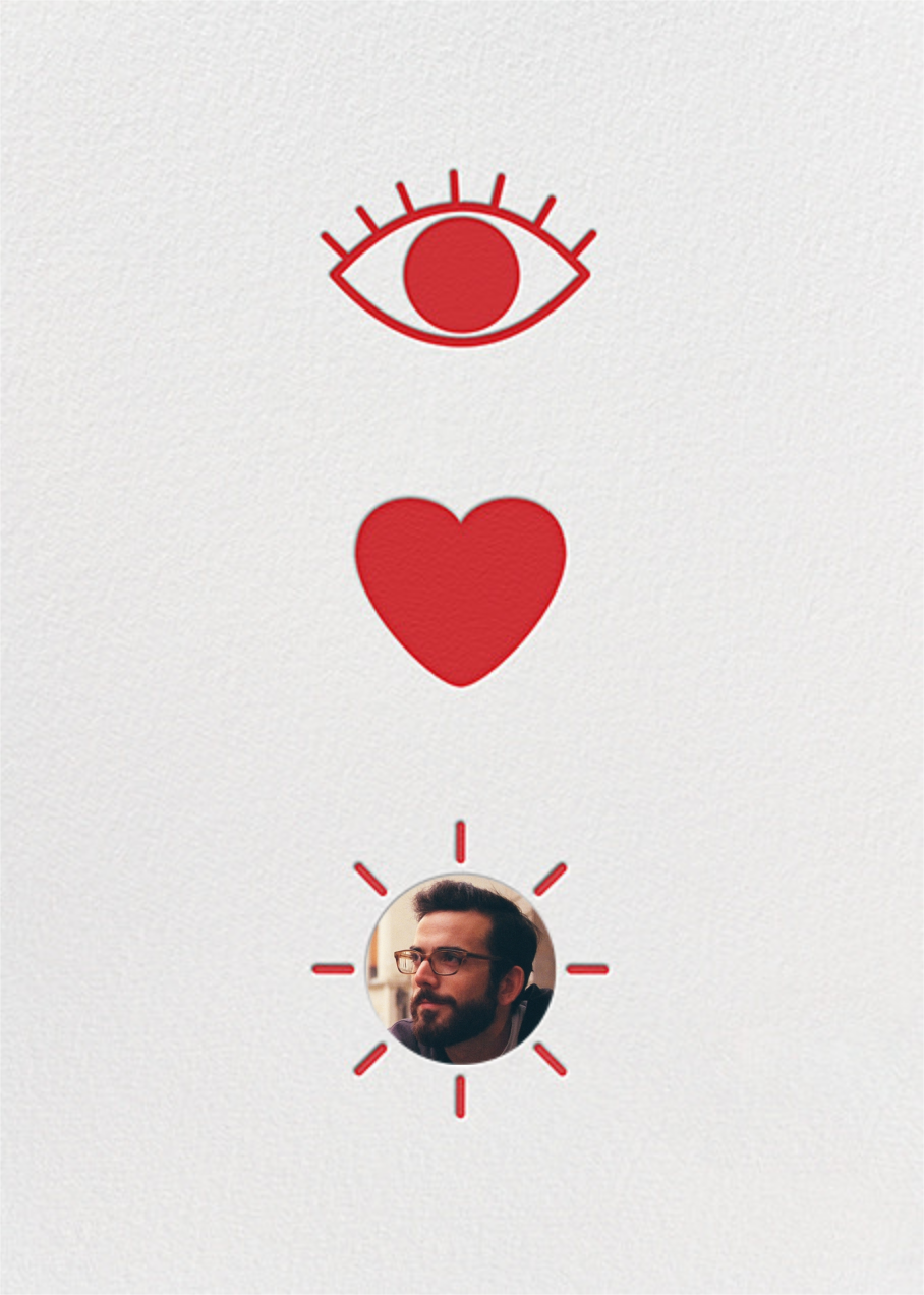 Eye Heart You - Paperless Post - Greeting cards
