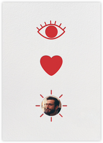 Eye Heart You - Paperless Post - Online Greeting Cards