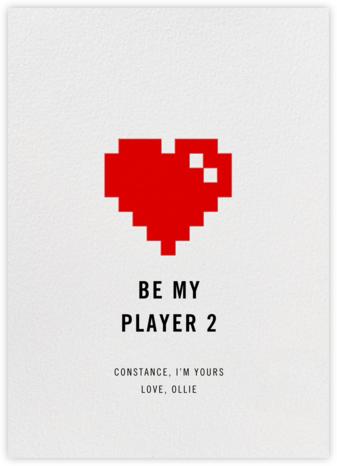 8Bit Heart - Paperless Post -