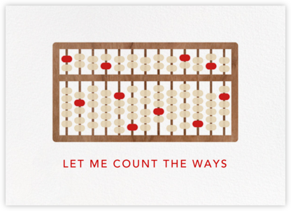 Abacus - Paperless Post - Love Cards