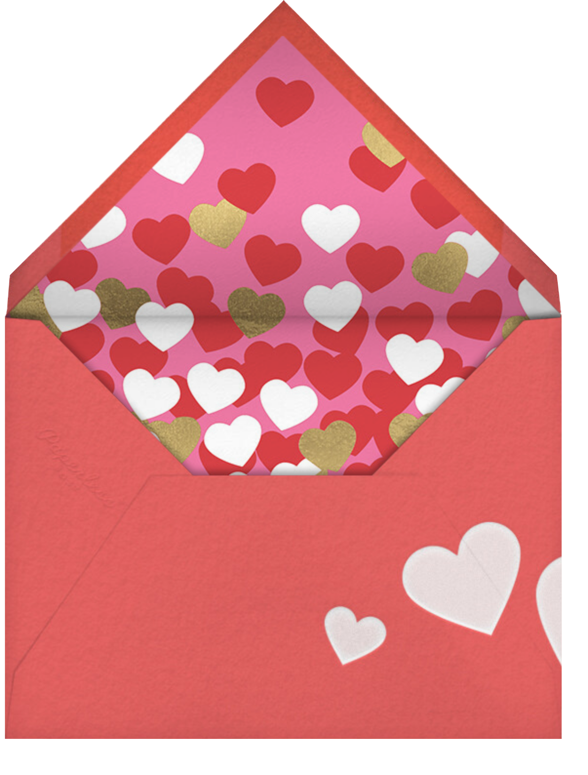 Don't Break My Candy Heart - Pink - Paperless Post - Envelope