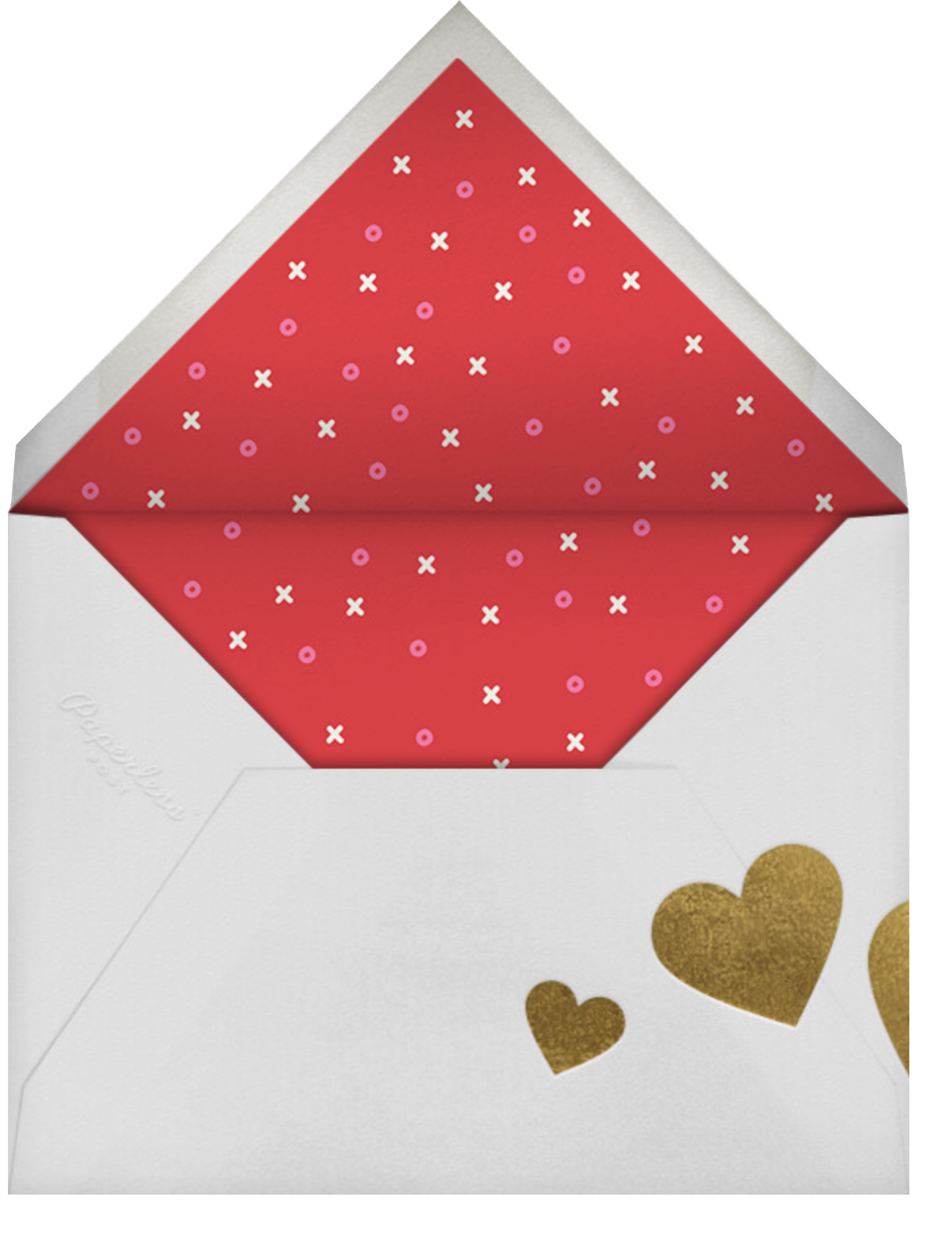 Don't Break My Candy Heart - Yellow - Paperless Post - Envelope
