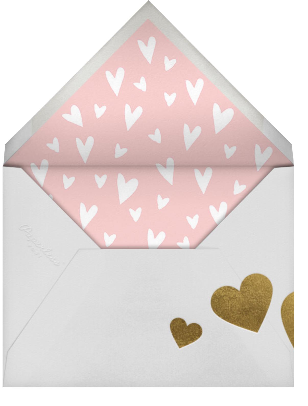 Love Ewe - Celadon - Paperless Post - Valentine's Day - envelope back