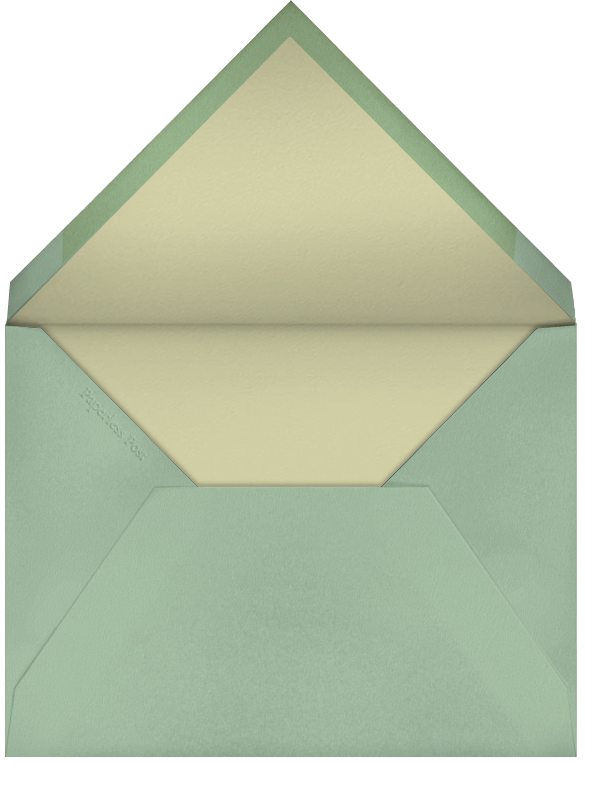 Party Squirrels (Jon Klassen) - Red Cap Cards - Birthday - envelope back