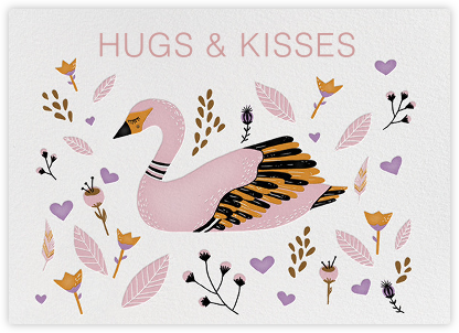 Hugs and Kisses (Carrie Gifford) - Red Cap Cards - Valentine's day cards