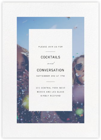 Relative - Paperless Post - Online Party Invitations