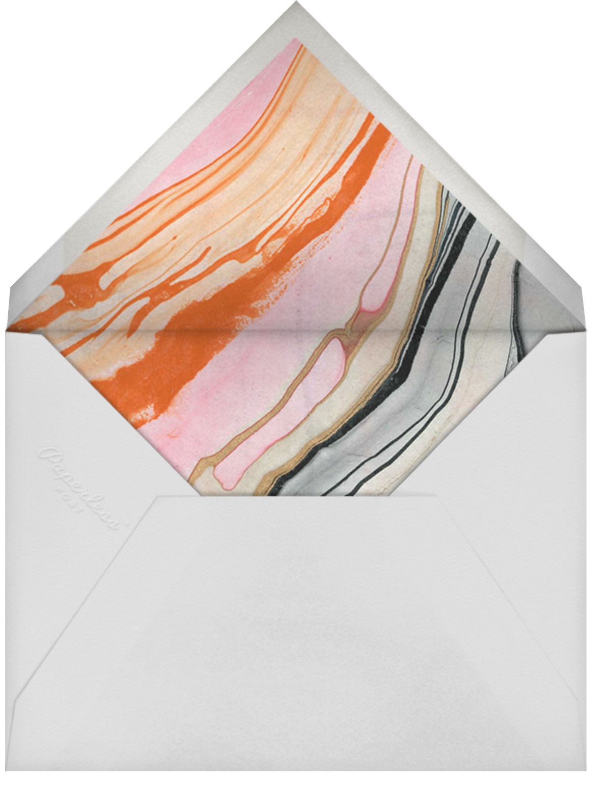 Color Me In Love - Kelly Wearstler - Love and romance - envelope back