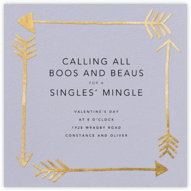 Love Struck - Periwinkle - Kelly Wearstler - Valentine's Day invitations