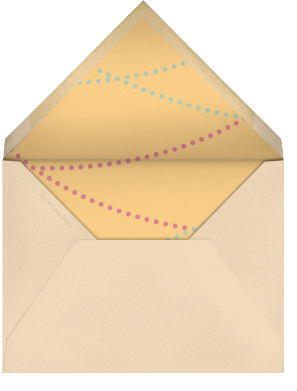 A Dinner Party - Crate & Barrel - Dinner party - envelope back