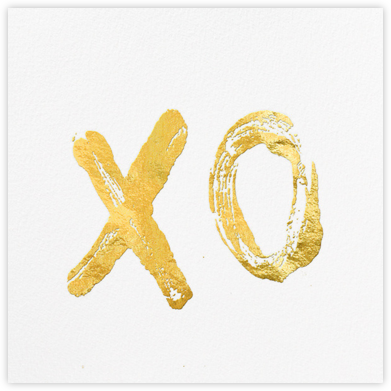 XO - Kelly Wearstler - Valentine's day cards