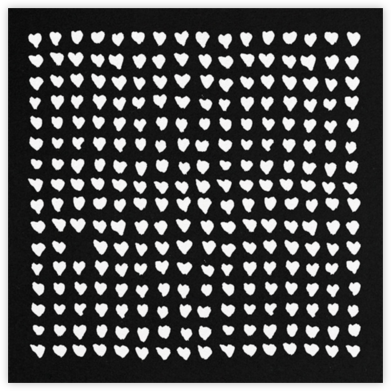 One in a Million - Black - Kelly Wearstler - Valentine's Day Cards