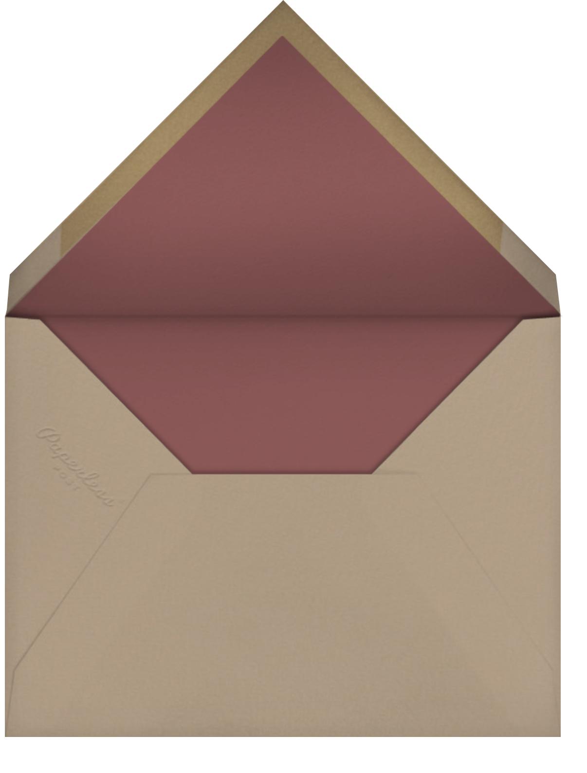 Stay Wild (Sarah Burwash) - Red Cap Cards - Envelope
