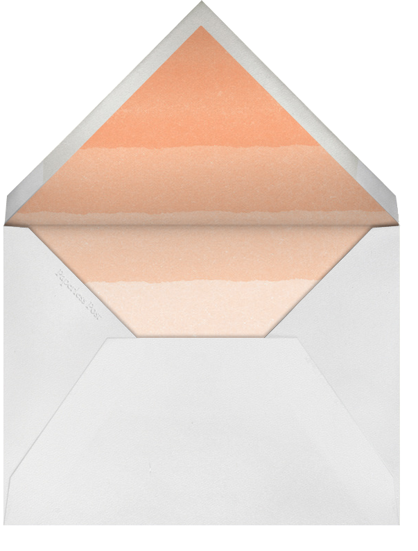 Coda - Paperless Post - Engagement party - envelope back