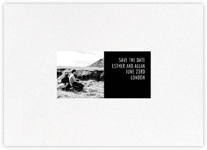 Litmus - Horizontal (Black) - Paperless Post -