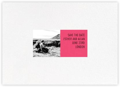 Litmus - Horizontal (Pink) - Paperless Post -