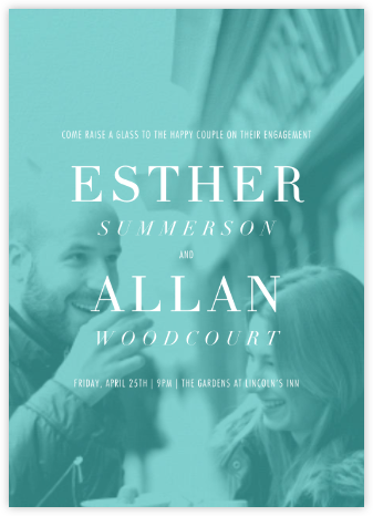 Ette - Paperless Post - Engagement party invitations