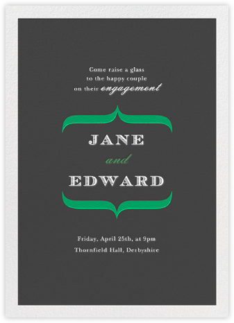 Mouette - Paperless Post - Engagement party invitations