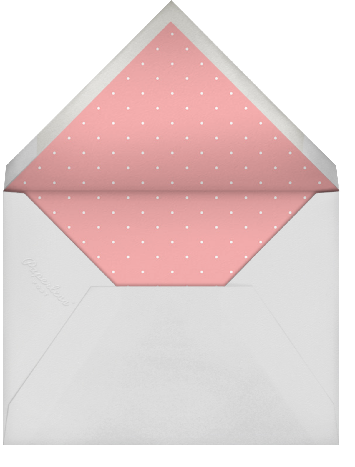 Bobbin (Save the Date) - Meringue - Paperless Post - Save the date - envelope back