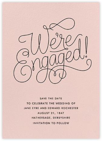 Bobbin (Engagement) - Meringue - Paperless Post -
